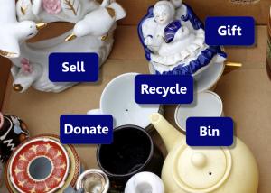 Ways to sort clutter